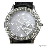 【】期間限定20%OFF!プーさん×スワロフスキー腕時計ハッピークリスタル ブラック【楽ギフ包裝】【smtb-TD】【saitama】
