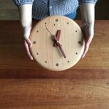 木の時計・手作り【小枝クロック(大)】【送料無料(一部地域を除く)】置き時計 掛け時計 木製 新築祝い 入学祝い 退職祝い