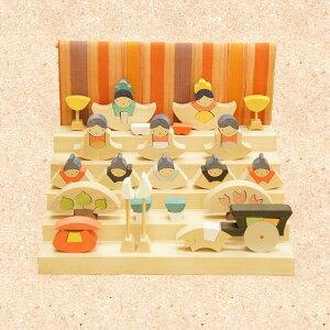【銀杏円びな五段飾り】 雛祭 節句 ひなまつり ひな祭り 桃の節句 送料無料