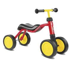 室内でも屋外でも楽しめる四輪車。歩き始めの子どもにもお勧めできます!  四輪車【プッキー(...