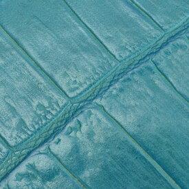 フェリージfelisi034ライトブルー水色系で稀なクロコ型押しレザー450/SAカードケースエンボスユニセックス