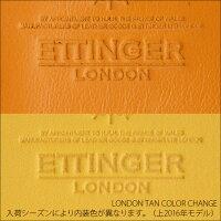 エッティンガー財布ETTINGER/NAVY/LONDONTANネイビー&ロンドンタン艶の美しい2つ折りサイフブライドルレザー濃紺メンズブランド小銭入れ付きBH989AJRNVL
