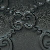 グッチGUCCICWC1NブラックAVELアヴェルレザー世界に通じるGGアイコングッチシマラウンドファスナーメンズ長財布