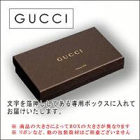 グッチ財布Gucci二つ折りグッチシマブラウンレザー