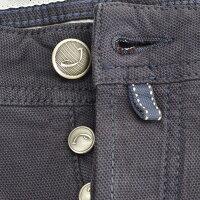 ヤコブコーエンJACOBCOHEN/PW622シリーズの16AWタイプ/BLU-GRAFFITE小豆系のグレー綿にレトロな表情が秘められたジップフライ5ポケットパンツスリムテーパード)n