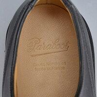 パラブーツParaboot[NOIR-LISNOIR][ブラック][シャンボード][CHAMBORD]タフな機能を継承している名靴Uチップシューズ