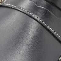パラブーツPARABOOT[CORAUX/コロー][ネイビー]素材もイメージもマリンらしさで統一させたオイルドレザー製コインローファー[LISAMERICA][ペニー]
