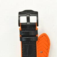 エンジェルクローバーAngelClover国内正規品メンズ腕時計タイムクラフトダイバーTIMECRAFTDIVERソーラークオーツブラックラウンド型クロノグラフレザーバンドでらでら公式ブランド