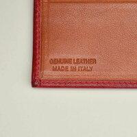 トリアンゴロTRIANGOLOレッド紙幣スペース2室ジャパンマネータイプ二つ折り財布イタリア製レザーウォレット国内正規品メンズレディース