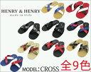 26%OFF!HENRY&HENRY ヘンリー&ヘンリー メンズ CROSS メール便対応商品 ビーサン サンダル ス...