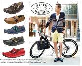 Steve Madden スティーブ マデンKOLTT ドライビングシューズ 本革 メンズ サンダル ブーツ シューズ スエード イタリア