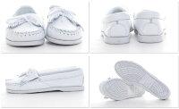 送料無料MINNETONKAミネトンカKILTYUNBEADEDキルティアンビーデッド(モカシン)レディース靴革ローファーフリンジブーツシューズ白ホワイトカラー[204]