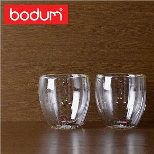 bodum グラス ボダム ダブルウォールグラス 0.25L 250ml 2個セット PAVI…