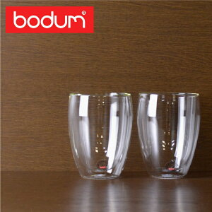 bodum グラス ボダム ダブルウォールグラス 0.35L 350ml 2個セット PAVI…