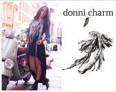 ドニーチャーム Donni Charm DCK-BT SCARF フリンジ 大判スカーフ(ストール)