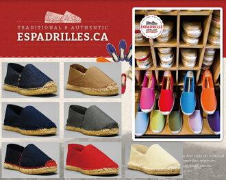 麻底帆布鞋Espadrille FLATS SEWN WITH COLORED THREAD麻底帆布鞋懶漢鞋女士人男女兩用懶漢鞋平跟鞋涼鞋Beach sandal郵件班次對應不痛的受歡迎的麻底帆布鞋