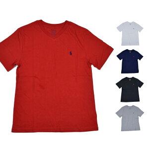 ポロ ラルフローレン ラルフ Tシャツ POLO RALPH LAUREN 半袖 レディース メンズ Vネック 1ポイント ロゴ 30/1 JERSEY-TP-TSH