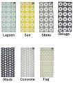 ブリタ スウェーデン BRITA SWEDEN Plastic foil Flower Karin Confect 70×150 ラグ マット リバーシブル プラスチック 北欧 雑貨 インテリア 2