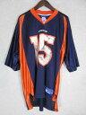 ネコポス可能 reebok リーボック NFL デンバー・ブロンコス ブランドン・マーシャル ゲームシャツ L【中古】【メンズ】【LARGE】