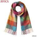 AVOCA(アヴォカ)クランスカーフ/マフラー・ストールLCLANSCARFStoleMufflerCIRCUS-119182,PIONEER-119183,DENIM-119184PLAYGROUND-118943,VOGELBERRY-2980