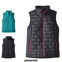 2017 FW 秋冬新作 Patagonia パタゴニア 84247 ウィメンズ・ナノ・パフ・ベスト Women's Nano Puff Vest