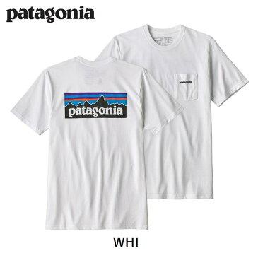 【期間限定 送料無料】パタゴニア patagonia メンズ・P-6ロゴ・ポケット・レスポンシビリティー 春夏新作 Tシャツ 2018 SS 39178 Men's P-6 Logo Pocket Responsibili-Tee®