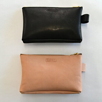 GS Heavy Leather Pouch 【STUSSY Livin' GENERAL STORE】 ステューシー レザー ポーチ おしゃ...