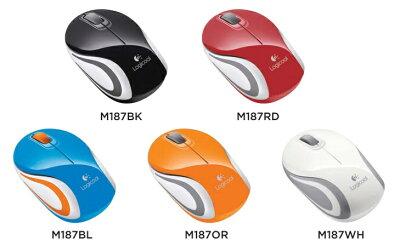 ワイヤレスの信頼性はそのまま。ポケットサイズのマウス。Logicllo/ロジクール【M187】Wireless...