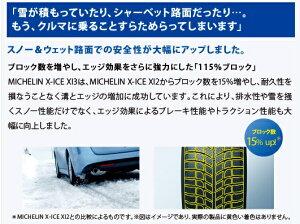 MICHELINミシュランスタッドレスタイヤX-ICE/XI315インチ195/65R1595TXL(1本)