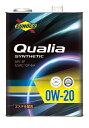 SUNOCO スノコ エンジンオイル Qualia クオリア 0W-20 20L缶 ...