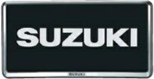 SUZUKI スズキ SOLIO ソリオ スズキ純正 ナンバープレートリム 2015.8〜次モデル   ナンバーフレーム ナンバープレートリム 車 ナンバー 枠 おしゃれ かっこいい アクセサリー パーツ ポイント消化