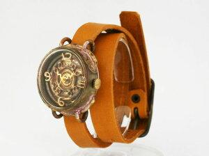 【送料無料】en独楽手作り腕時計【rakutenshopDe