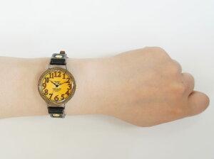 【送料無料】GaTaBRASSBENminiプリント文字盤手作り腕時計【rakutenshopDe