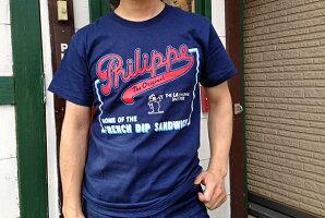 【送料無料】PhilippeTシャツアメリカの老舗サンドイッチ屋