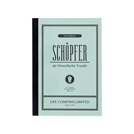 手帳・ノート, ノート  LIFE SCHOPFER A5 N64
