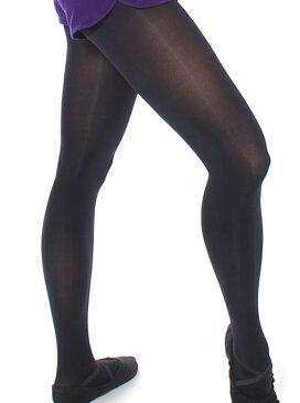 バレエ タイツ 黒 ブラックタイツ M/L 日本製 伸びる 柔らかい 肌触り 締め付けない オリジナル