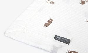送料無料◆イブル キルティングラグマット 155×205cm Washing spread pad - 13 Welsh corgi/デイリーライク Dailylike マルチカバー ソファーカバー プレイマット ベビーマット 洗える 綿 コットン 長方形 1.5畳 コーギー 出産祝い ギフト 赤ちゃん