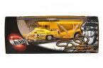 "MATTEL HOTWHEELS 100% ""The Snake"" ""Plymouth Barracuda Funny Car & 1956 Ford Cabover (Truck)"" 2 cars set マテル ホットウィール 1:64スケール 「ザ・スネーク」 「プリマス バラクーダ ファニーカー & 1956 フォード キャブオーバー (トラック)」  2台セット 57381"