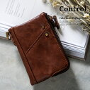 【ゆうパケット対応】Control 二つ折り財布 メンズ財布 財布 メ...