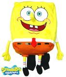 【送料無料】スポンジボブ spongebob ぬいぐるみバックパック 子供用 キッズ かばん リュックサック デイパック トドラー 遠足 入園入学 ギフト プレゼント クリスマス (CO-AR-SBBP001 c320073)
