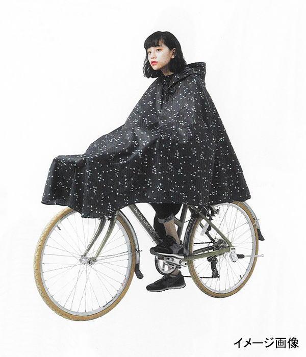 WPC チャリーポンポン CHALLY PON PON (セミサークル) レインポンチョ レインウエア レインコート 自転車 通勤 通学 雨具 梅雨 雨対策 母の日 ホワイトデー キウ プレゼント ギフト (CPP-005 wa420083)