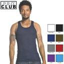 PRO CLUB (プロクラブ) 【全8色】【S〜XL】[あす楽] PROCLUB Men's Athletics Shirt リブ編みタンクトップ(1枚のみ)メンズ無地Aシャツ 大きいサイズAシャツ 大きいメンズ無地タンクトップ
