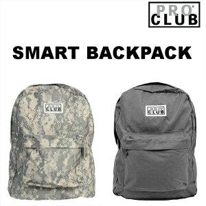 PRO CLUB (プロクラブ) backpack [1550]バックパック バッグ リュック プロクラブリュック 男女兼用 リュックサック アウトドア キャンプPROCLUB プロ クラブ ヒップホップ ストリート 迷彩 カモ グレー
