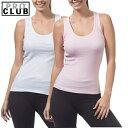 PRO CLUB (プロクラブ) 【全3色】【M〜XL】[あす楽] PROCLUB Ladies Athletics Shirt リブ編みタンクトップ(1枚売り)レディース無地Aシャツ 大きいサイズAシャツ 大きいレディース無地タンクトップ