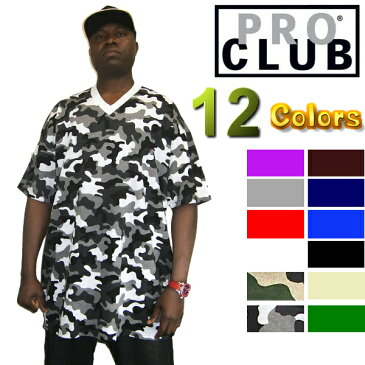 PRO CLUB (プロクラブ) 【M〜2XL】【全12色】[あす楽]COMFORT (コンフォート) 【MADE IN U.S.A】 V NECKPROCLUB Vネック無地/プレーン 半袖Tシャツ (S/S TEE)大きいサイズ スノボー ウェア M L 2L 3L 4L 5L