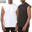 S〜XL PRO CLUB (プロクラブ)(ヘビーウェイト) HEAVY WEIGHT MUSCLE T SHIRT SLEEVELESS ヒップホップ衣装 ダンス 衣装PROCLUB 無地/プレーン マッスルTシャツ タンクトップ ジムウエア大きいサイズメンズ インナー 作業着5Lスリーブレス ノースリーブ