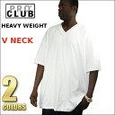 【105】PRO CLUB (プロクラブ)6.5オンス[あす楽] メンズ大きいサイズHEAVY WEIGHT (ヘビーウェイト) V NECKPROCLUB Vネック無地/プレーン 半袖Tシャツ (S/S TEE)小さいサイズ大きいサイズスノボー ウェア インナー 作業着M L LL 2L 3L 4L 5L