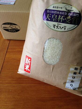 能登半島のおいしいお米・能登ひかり・10kg・10キロ