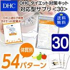 【最大P8倍以上+400pt開催】【DHC直販】【送料無料】それぞれの体質にきめ細かく対応したサプリメントダイエット対策キット対応型サプリ<30>