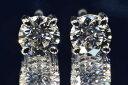 0.3カラットダイヤモンド一粒ピアスEカラーフローレス最高品質高品質ダイヤモンドピアスをお求めの方にぴったり4本爪プラチナダイヤGIA鑑定書刻印